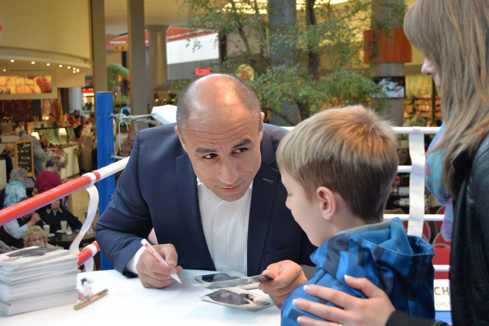 Arthur Abraham in Oldenburg